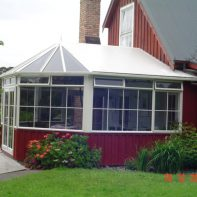 Conservatories | Red Conservatory 1