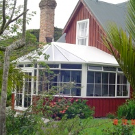 Conservatories | Red Conservatory 2