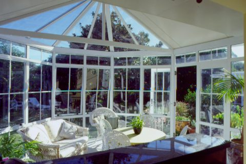 Conservatory - sunny interior